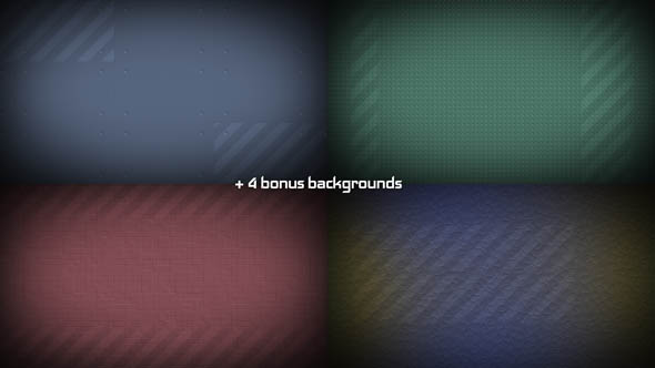 4 Backgrounds
