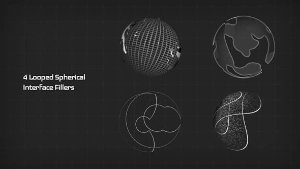 4 Looped Spherical Interface Fillers